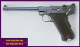 Luger 45ACP Target Model with 7 inch heavy barrel , similar to 1906 and P08 DWM Lugers but in 45 ACP