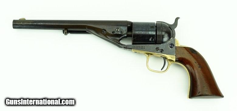 Quot Colt 1861 Navy Conversion 38 Caliber Revolver C12559