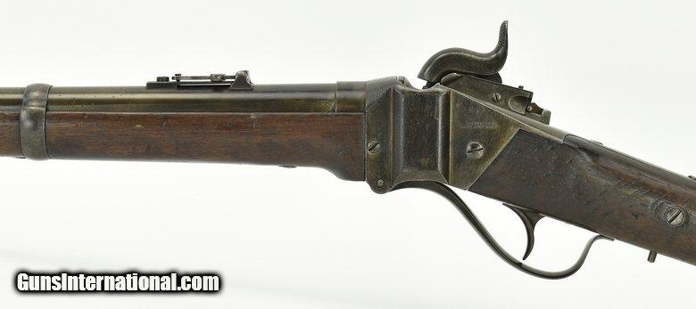 Quot Sharps Model 1859 54 Caliber Military Rifle Al398