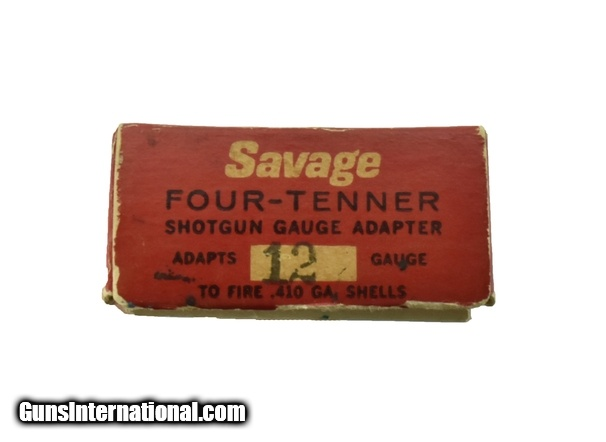 Rare Savage Four-Tenner  410 Gauge Insert for 12 Gauge (MIS1146)