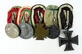 German WWI Five Medal device Kingdom of Wurttenberg Solder (MM960)