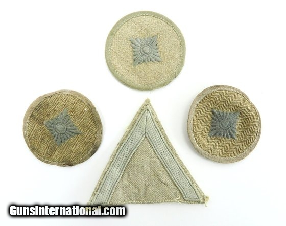 Lot of German WWII Military service patches (MM988) for sale