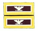 """""""Set of U.S. Army Colonel Shoulder Boards (MM995)"""" - 1 of 1"""