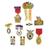 Incredible Collection of Mexican International Shooting Competition Awards (MM790)