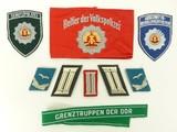 East German Military / Police Tabs (MM791)