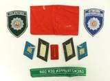 """East German Military / Police Tabs (MM791)"" - 2 of 2"