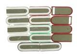 """""""Seven Sets of East German Shoulder Boards (MM794)"""" - 1 of 2"""