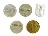 """""""Five Miscellaneous Nazi Tinnies (MM796)"""" - 2 of 2"""