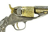New York Engraved Tiffany Gripped Colt 1862 Pocket Navy Conversion (C14633) - 5 of 12