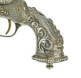 New York Engraved Tiffany Gripped Colt 1862 Pocket Navy Conversion (C14633) - 3 of 12