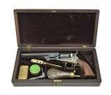 """Cased Colt 1849 Pocket Revolver (C14635)"""