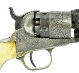 """""""Cased Factory Engraved Colt 1862 Pocket Navy (C14636)"""" - 7 of 16"""