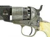 """""""Cased Factory Engraved Colt 1862 Pocket Navy (C14636)"""" - 3 of 16"""