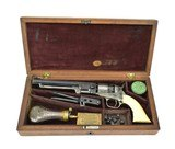 Cased Factory Engraved Colt 1862 Pocket Navy (C14636)