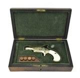Cased Engraved Colt 3rd Model Derringer (C14639) - 1 of 7