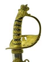 """Miniature Kaiser Wilhem Honor Sword. (SW1217)"" - 4 of 7"