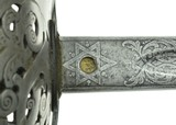 """""""British Pattern 1897 Infantry Officers Sword (SW1220)"""" - 3 of 9"""