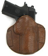 Custom Badger Skin holster. (H686)