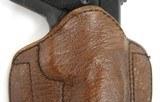 """""""Custom Badger Skin holster. (H686)"""" - 2 of 3"""