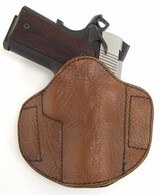 Custom Badger Skin holster (h646)
