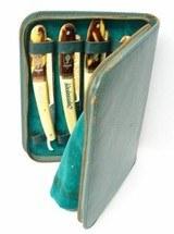 """""""Vintage Kiebitz 7 day Straight Razor Kit (K1455)"""" - 2 of 7"""