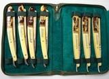 """""""Vintage Kiebitz 7 day Straight Razor Kit (K1455)"""" - 1 of 7"""