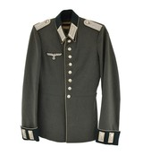 WWII German Officers M35 Waffenrock Leutnant Ranked (MM1155) - 1 of 7