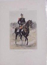 Eleve de LEcole Speciale Militaire - Cavalerie 1885 Reprints(MM124)