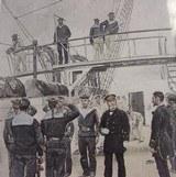 """Vice-Amiral, Lieutenant De Vaisseau, Aspirants, Fusiliers Marins Tenue De Service 1885 Reprints(MM122)"" - 3 of 4"