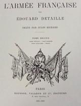 """Vice-Amiral, Lieutenant De Vaisseau, Aspirants, Fusiliers Marins Tenue De Service 1885 Reprints(MM122)"" - 4 of 4"