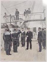 """Vice-Amiral, Lieutenant De Vaisseau, Aspirants, Fusiliers Marins Tenue De Service 1885 Reprints(MM122)"" - 2 of 4"
