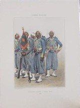 Tirailleurs In Digenes - Grande Tenue 1886 Reprints(MM120)