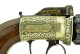 """""""Beautiful Dragoon Size British Pepperbox by W.A.Beckwith. (AH5006)"""" - 4 of 7"""