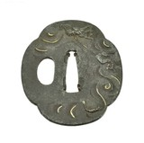 """Authentic Japanese Tsuba (MGJ907)"" - 1 of 2"