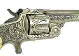 New York Engraved Smith & Wesson 2nd Model Single Action Revolver (AH5038)- 4 of 7
