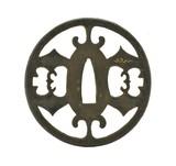 """Authentic Japanese Tsuba (MGJ1081)"" - 1 of 2"