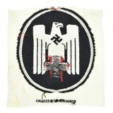 """German WWII Embroidered Red Cross Uniform Emblem (MM1226)"" - 2 of 2"