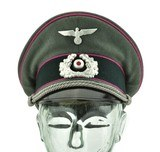 Wehrmacht Panzer Officers Visor. (MH4445) - 1 of 5