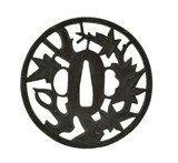 """Genuine Authentic Tsuba (MGJ1137)"" - 2 of 2"