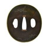 Genuine Authentic Tsuba (MGJ1113) - 1 of 2