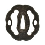 Authentic Japanese Tsuba (MGJ1129) - 1 of 2