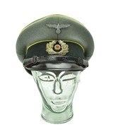 German WWII NCO Signal Corp Visor Cap (MM1275) - 1 of 6