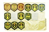 """""""Lot of Soviet Era Patches (MM1279)"""" - 2 of 2"""