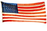 """Huge 44 Star U.S. Flag (MM1281)"" - 1 of 2"