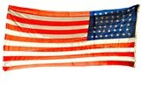 """Huge 44 Star U.S. Flag (MM1281)"" - 2 of 2"