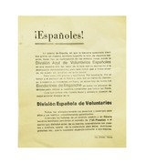 """Original Spanish Volunteer Notice (MM1288)"" - 1 of 1"