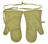 """""""Japanese WWII Army Mosquito Proof Gloves (MM1289)"""" - 2 of 2"""