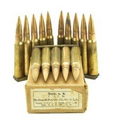 German WWII 8mm Ammunition Dated 1936 (MM1306)