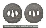 Iron Tsuba (J417) - 2 of 2