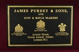 Pair Of Self-Opening Single Trigger Sidelock Ejector Game Shotguns by James Purdey(S9427) - 12 of 12
